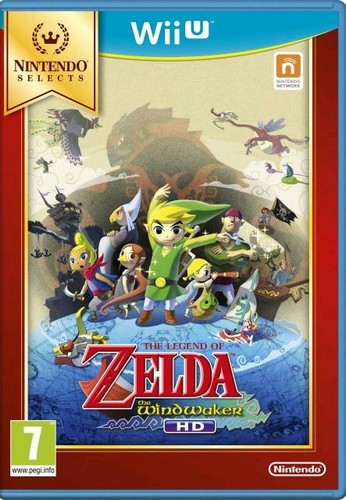 The Legend of Zelda: The Wind Waker HD (Selects) (Wii-U)