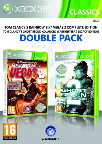Rainbow Six Vegas 2 & Ghost Recon Advanced Warfighter 2 (Double Pack) (Xbox 360)