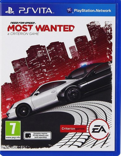 Need For Speed Most Wanted (2012) (Vita)