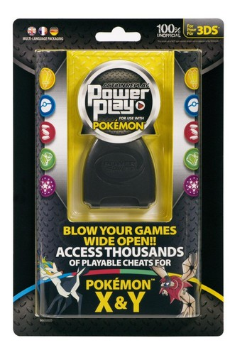 Action Replay Power Play for Pokemon X & Y (Datel) (3DS)