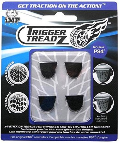 Trigger Treadz (4 Pack) [Black] (PS4)