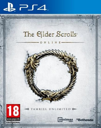 Elder Scrolls Online - Tamriel Unlimited (English/Arabic) (PS4)