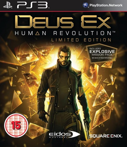 Deus Ex: Human Revolution Limited (BBFC) (PS3)