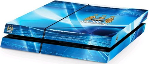 Official Manchester City FC - PlayStation 4 (Console) Skin (PS4)