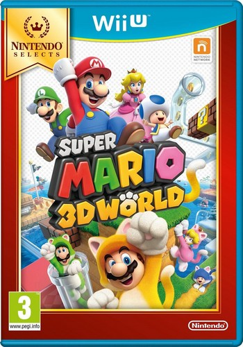 Super Mario 3D World (Selects) (Wii-U)