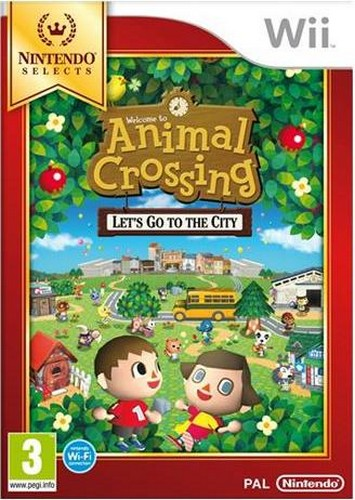 Animal Crossing: Lets go to the City (SELECTS) (Wii)