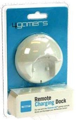 Single Remote Charging Dock (4gamers) (Wii)