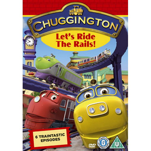 Chuggington - Let'S Ride The Rails (Cbeebies) (DVD)