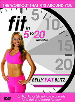 Fit In 5 To 20 Minutes - Belly Fat Blitz (DVD)
