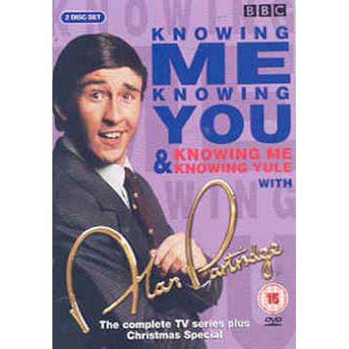 Alan Partridge : Knowing Me  Knowing You/Knowing Me  Knowing Yule - Complete Bbc Series (DVD)