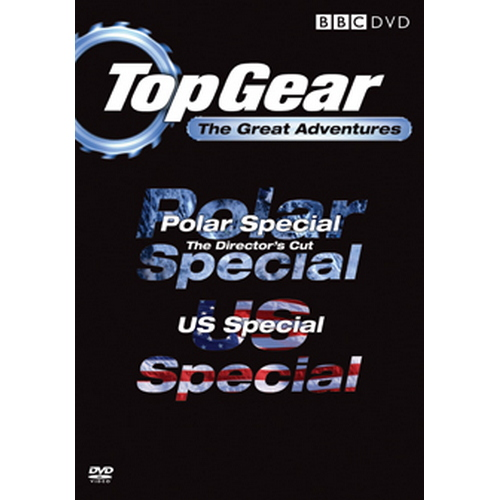 Top Gear - The Great Adventures (DVD)