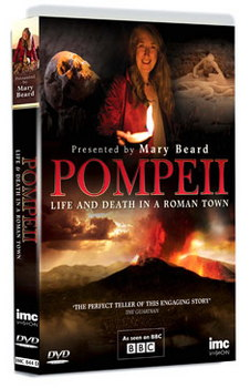 Pompeii Life And Death In A Roman Town - Presented By Mary Beard (DVD)