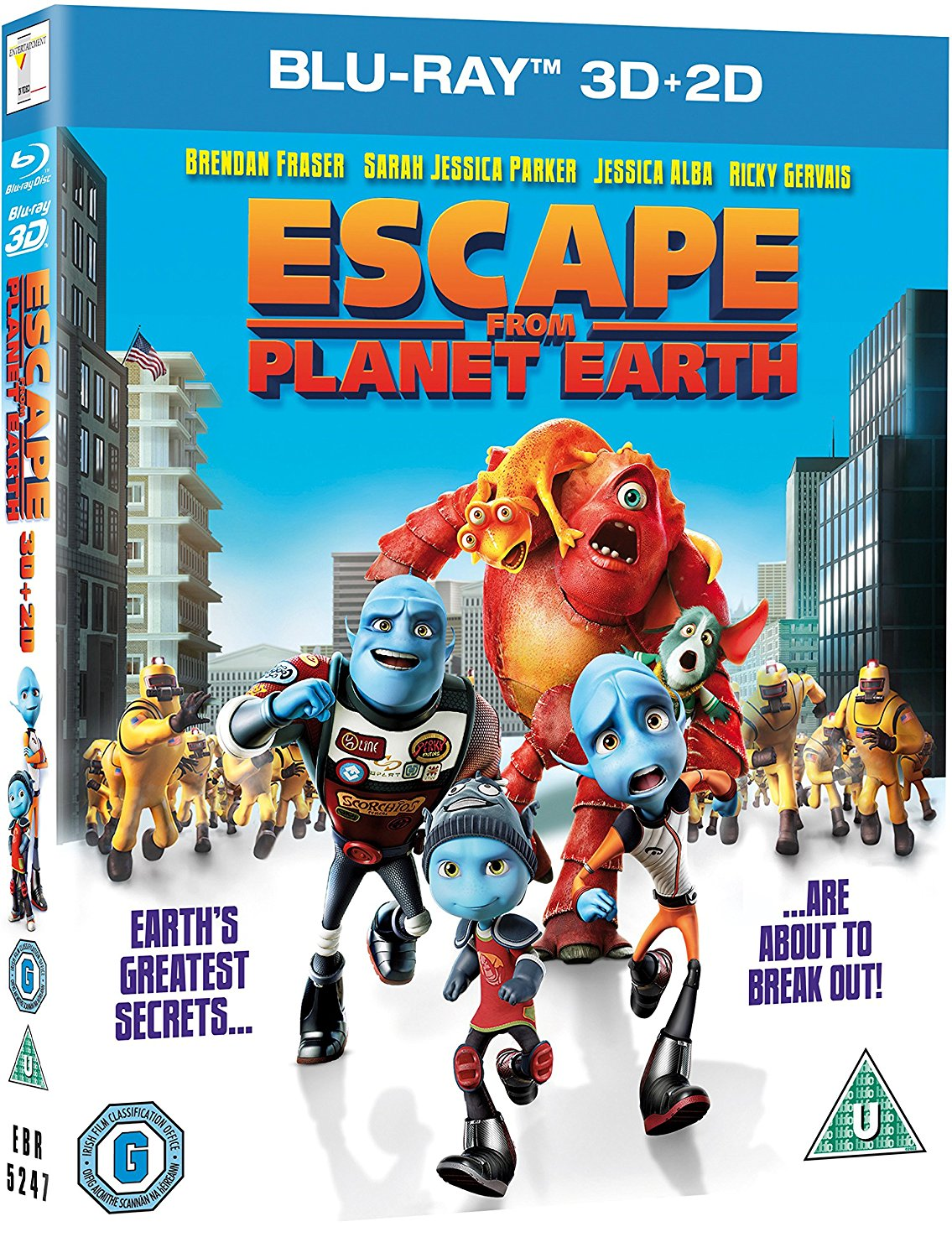 Escape from Planet Earth 2D/3D (Blu-ray)