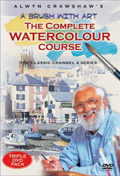Alwyn Crawshaw: A Brush With Art - Complete Watercolour Course (1991) (DVD)