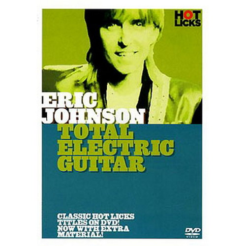 Eric Johnson Total Electric Guitar (DVD)
