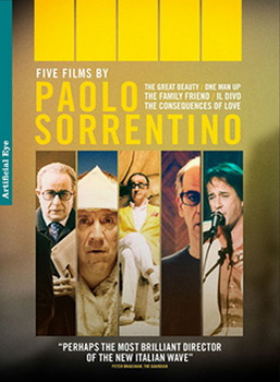 5 Films By Paolo Sorrentino (The Great Beauty / Il Divo / Consequences Of Love / Family Friend / One Man Up) (DVD)