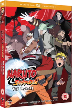 Naruto - Shippuden Movie Pentalogy (DVD)