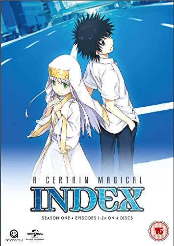 A Certain Magical Index: Complete Season 1 Collection (Episodes 1-24) (DVD)