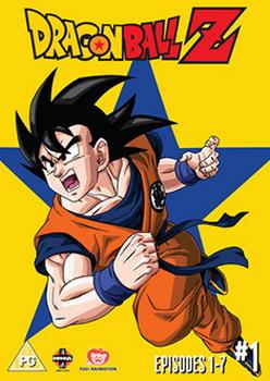 Dragon Ball Z Season 1 Part 1 Episodes 1-7 (DVD)
