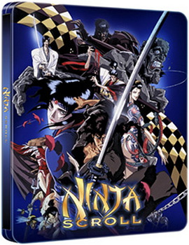 Ninja Scroll - Steelbook (Blu-Ray + DVD)