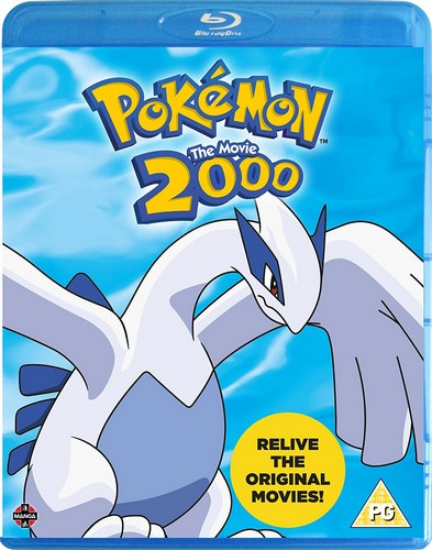Pokemon: The Movie 2000 [Blu-ray]