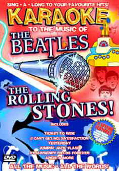 Karaoke To The Music Of The Beatles & Stones (DVD)