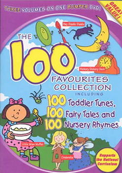 100 Favourites Collection - Nursery Rhymes  Toddler Tunes And Fairy Tales (DVD)