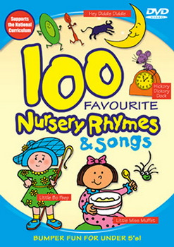 100 Favourite Nursery Rhymes And Songs (DVD)