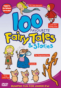 100 Favourite Favourite Fairy Tales And Stories (DVD)