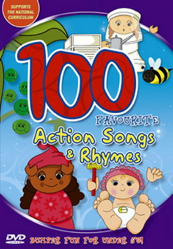 100 Favourite Action Songs (DVD)