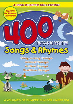 400 Favourite Songs And Rhymes Bumper Collection (DVD)