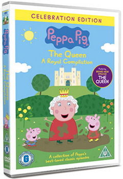 Peppa Pig Vol 17 - The Queen Royal Compilation (DVD)