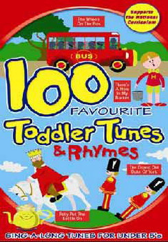 100 Favourite Toddler Tunes (Animated) (DVD)