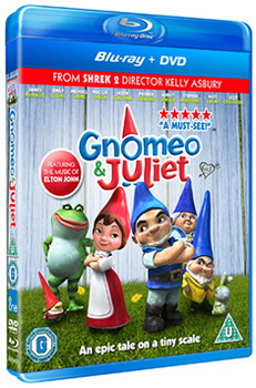 Gnomeo & Juliet (Blu-ray and DVD)