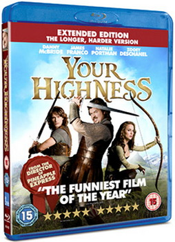 Your Highness - Extended Edition (The Longer  Harder Version) (Blu-ray)