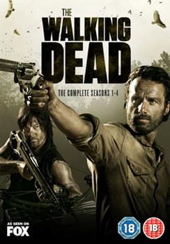 The Walking Dead: Seasons 1-4 [Blu-ray]