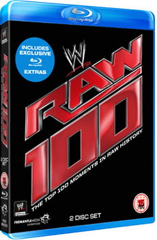 WWE Top 100 Raw Moments (Blu-Ray)