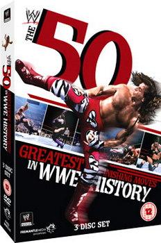 Wwe - 50 Greatest Finishing Moves In Wwe (DVD)