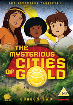 The Mysterious Cities Of Gold - Season 2: The Search Continues.. (DVD)