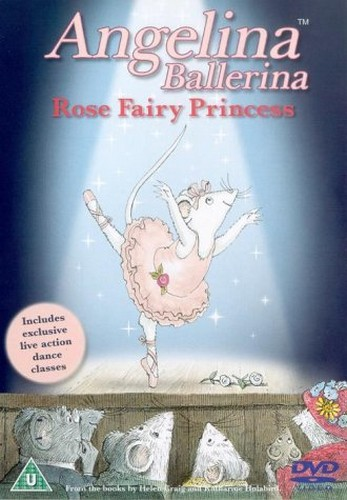 Angelina Ballerina - Rose Fairy Princess (Animated)