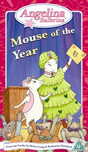 Angelina Ballerina - Mouse Of The Year (Plus CD)