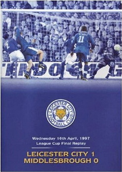 1997 League Cup Final Re-Play - Leicester City 1 Middlesborough 0 (DVD)