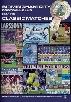 Birmingham City - Classic Matches (DVD)