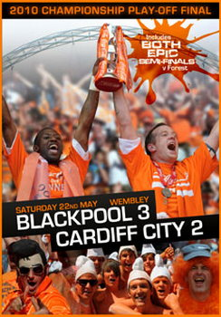 2010 Championship Play-Off Final - Blackpool 3 Cardiff City 2 (DVD)