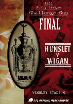 1965 Challenge Cup Final - Wigan 20 Hunslet 16 (DVD)