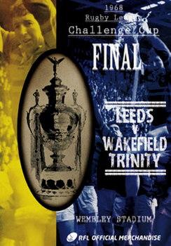 1968 Challenge Cup Final - Leeds 11 Wakefield Trinity 10 (DVD)