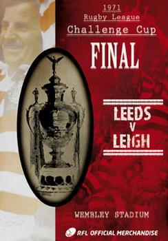 1971 Challenge Cup Final - Leigh 24 Leeds 7 (DVD)