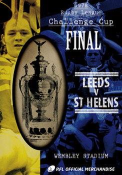1978 Challenge Cup Final - Leeds 14 St Helens 12 (DVD)
