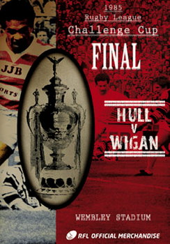 1985 Challenge Cup Final - Wigan 28 Hull 24 (DVD)
