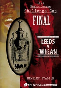 1994 Challenge Cup Final - Wigan 26 Leeds 16 (DVD)